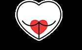 Hjerte Og Tekst Logo